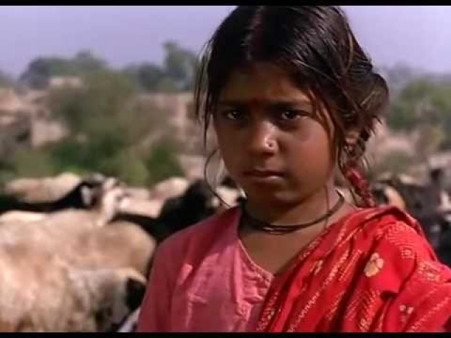 The 11-year-old Phoolan in <i>Bandit Queen.</i>