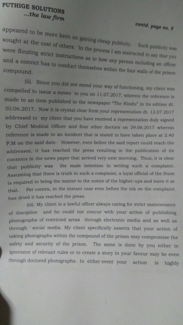 Defamation Notice Page 5