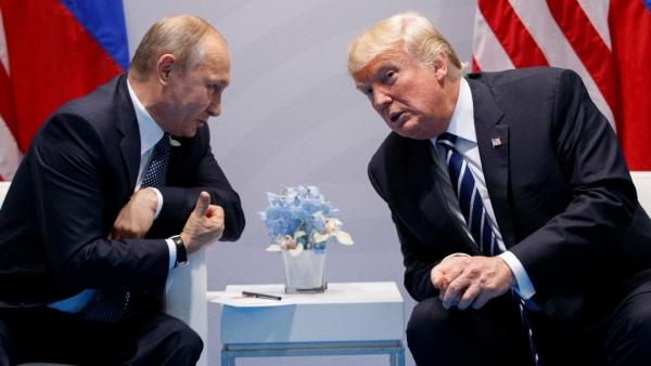 US President Donald Trump and Russian President Vladimir Putin.