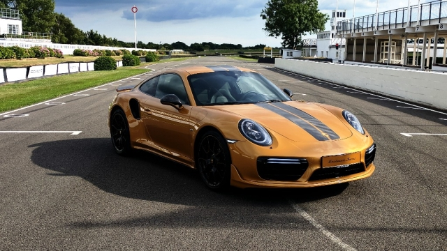 Porsche 911 Turbo S Exclusive Series was unveiled at Goodwood.
