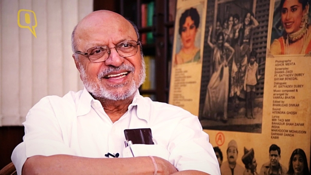 Noted filmmaker Shyam Benegal.