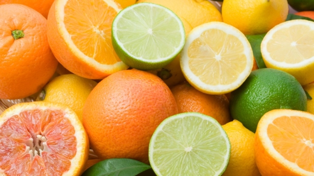 Citrus fruits such as orange, lemon are great for your vision.