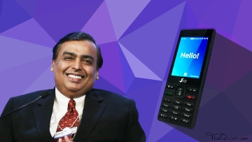 Jio feature phone is finally out.