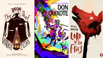 These are a few of the most creative book covers that have fired our imaginations in the past several years.