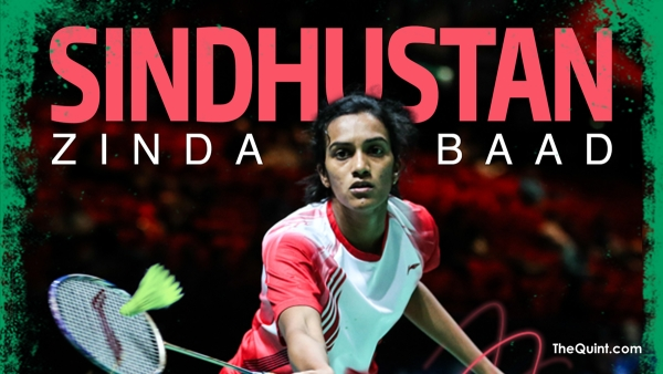 PV Sindhu is India's top-ranked badminton player.