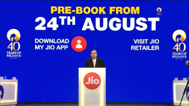 JioPhone pre-booking dates released.