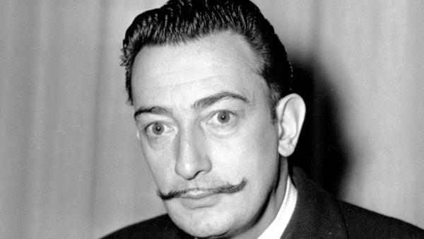 In this file photo taken on November 4, 1942 Spanish surrealist painter, Salvador Dali is pictured in New York.