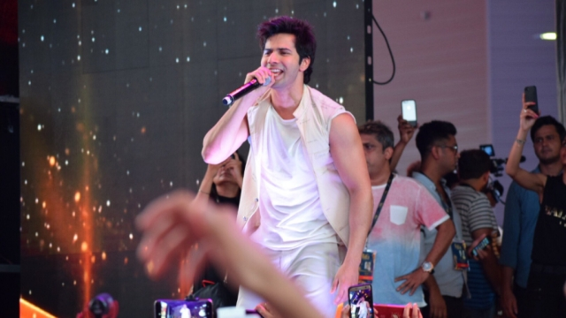 Varun Dhawan at an event.
