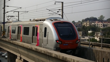 A representative image of the Mumbai metro.