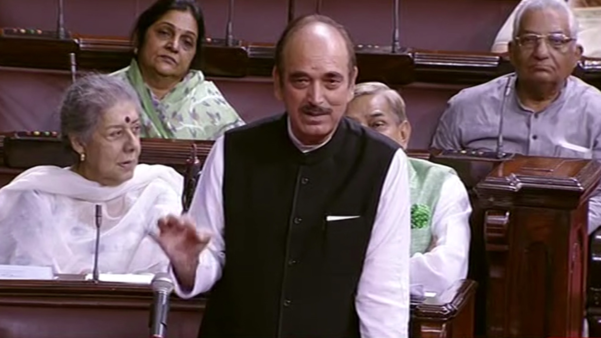 'Not True That Cong Isn't Interested in PM's Post': Azad Clarifies