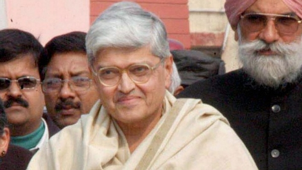West Bengal governor Gopalkrishna Gandhi who was announced as the Opposition's Vice-Presidential candidate