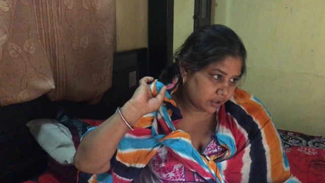 With hesitation, Kamlesh shows her short braid that had reached her hip until a few days ago.