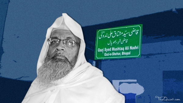 Mushtaq Ali Nadvi, Chief Judge, Shariat court (Dar-ul-Qaza).