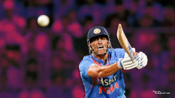MS Dhoni scored 67 in the Champions Trophy and 154 in the ODI series against West Indies.
