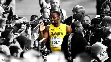 Usain Bolt ran his career's final race at the World Championships in London in August 2017.
