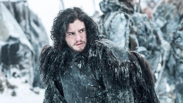 Kit Harrington as Jon Snow.