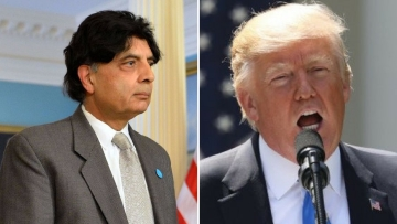 Pakistan not too thrilled with Trump's conditional grant.
