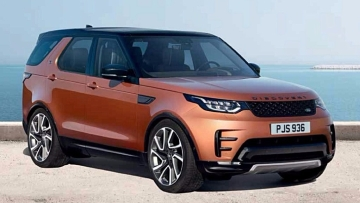 The Land Rover Discovery is available in 10 variants.