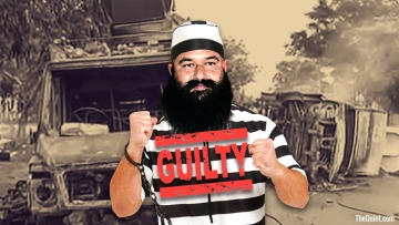Gurmeet Ram Rahim Singh was held guilty of raping two women in 2002.