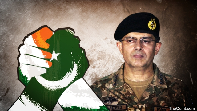 Pakistan Army has hampered Sharif's efforts, in the past, of reaching out to India.
