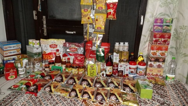 A bevy of products under the MSG brand.