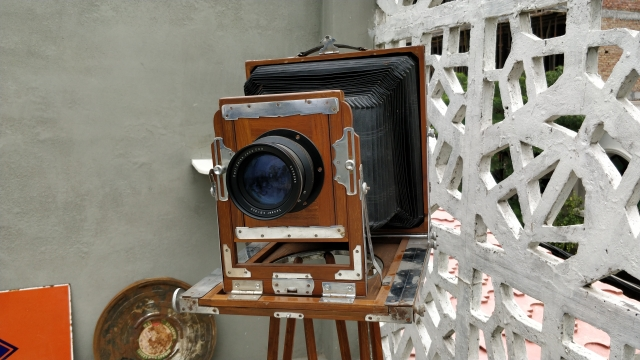 This camera is from 1885.
