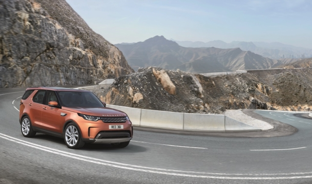 Delivery of the Land Rover Discovery will start in November.