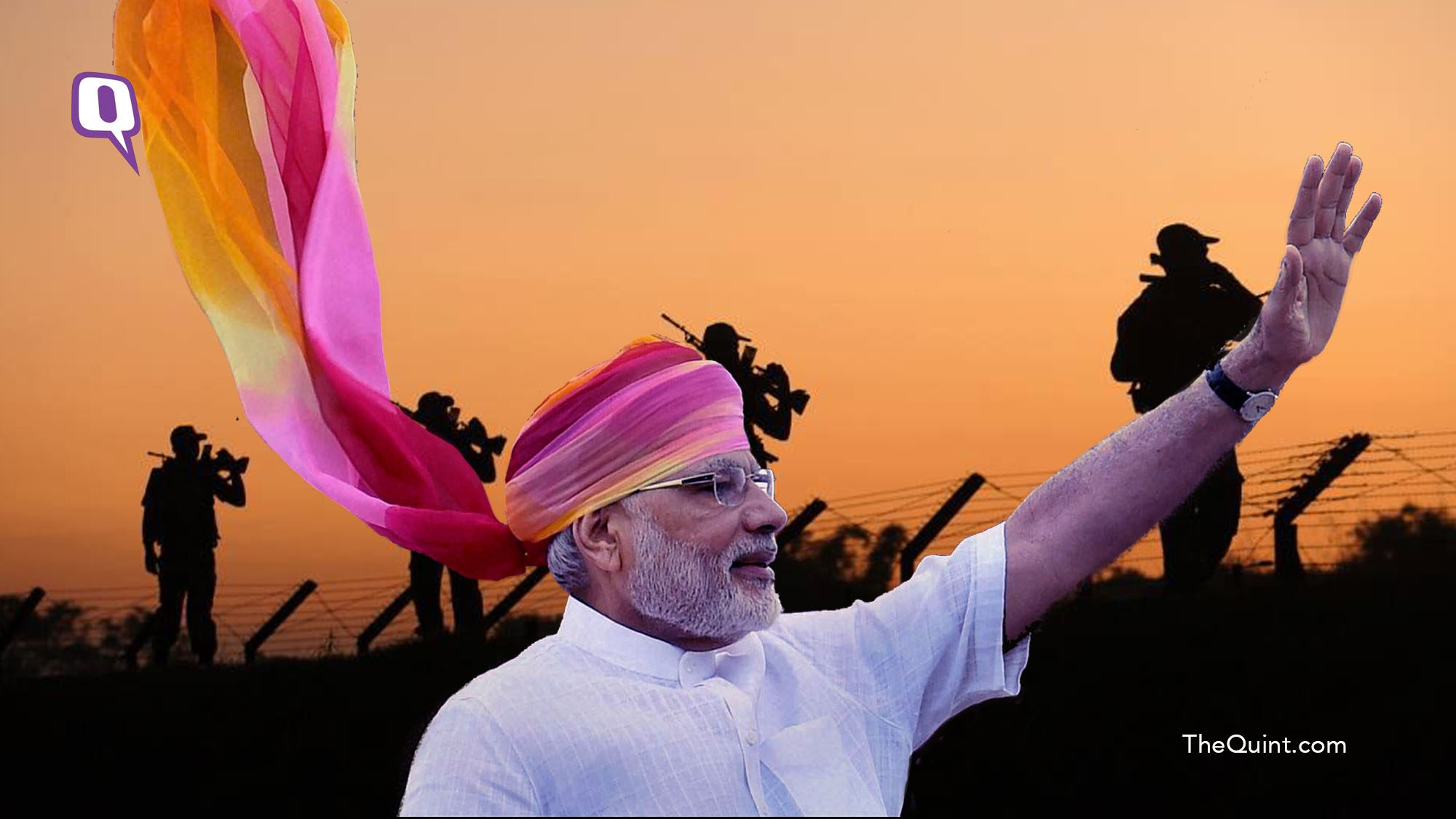 There Are No Records of Surgical Strikes Under UPA Regime: Modi