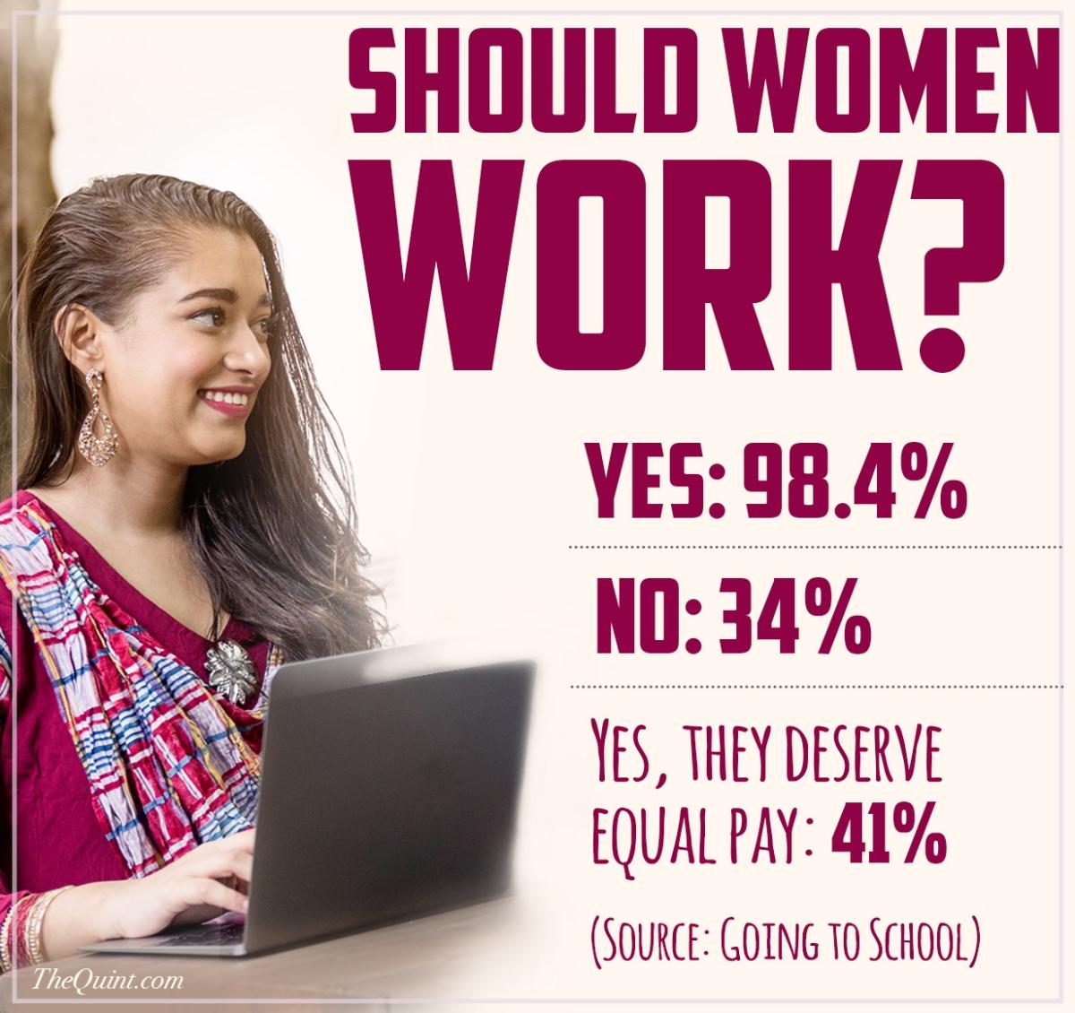 should women work or not