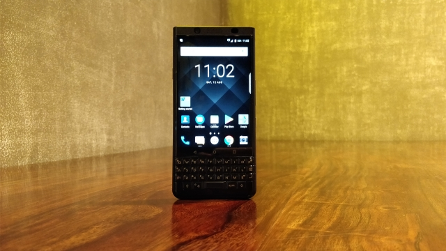 The BlackBerry KEYone  comes with android Nougat 7.1.1