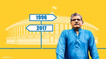 CPI(M) commits another political blunder by not allowing Sitaram Yechury for a third term in the Rajya Sabha.