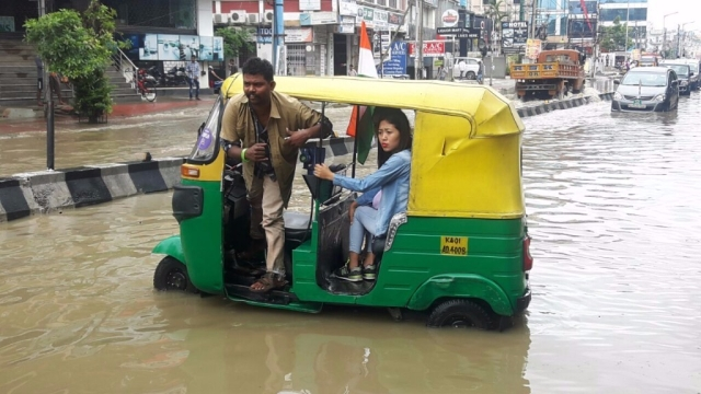 At least 17 different locations in the city recorded severe waterlogging.