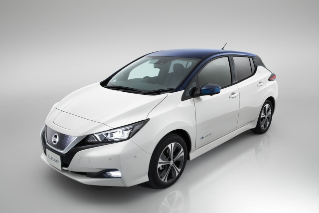 The Nissan Leaf is 4.4 metres long and has been completely redesigned.