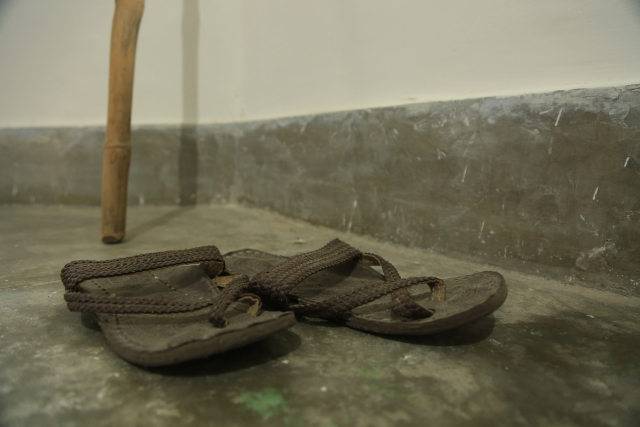 Bapu's slippers