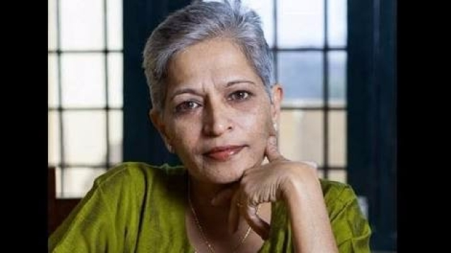 Gauri Lankesh was shot dead on 5 September.