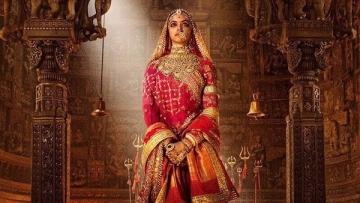 Deepika Padukone in the first look of <i>Padmavati. </i>