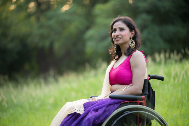 'My wheelchair doesn't define me, but it is still my biggest support'