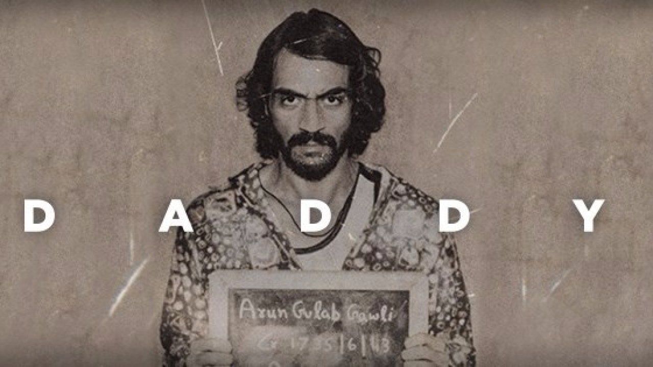 Arjun Rampal plays Arun Gulab Gawli in the film Daddy.