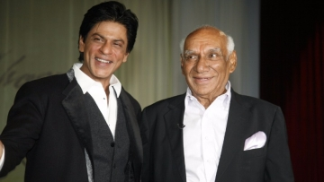 File photo of Shah Rukh Khan with Yash Chopra.