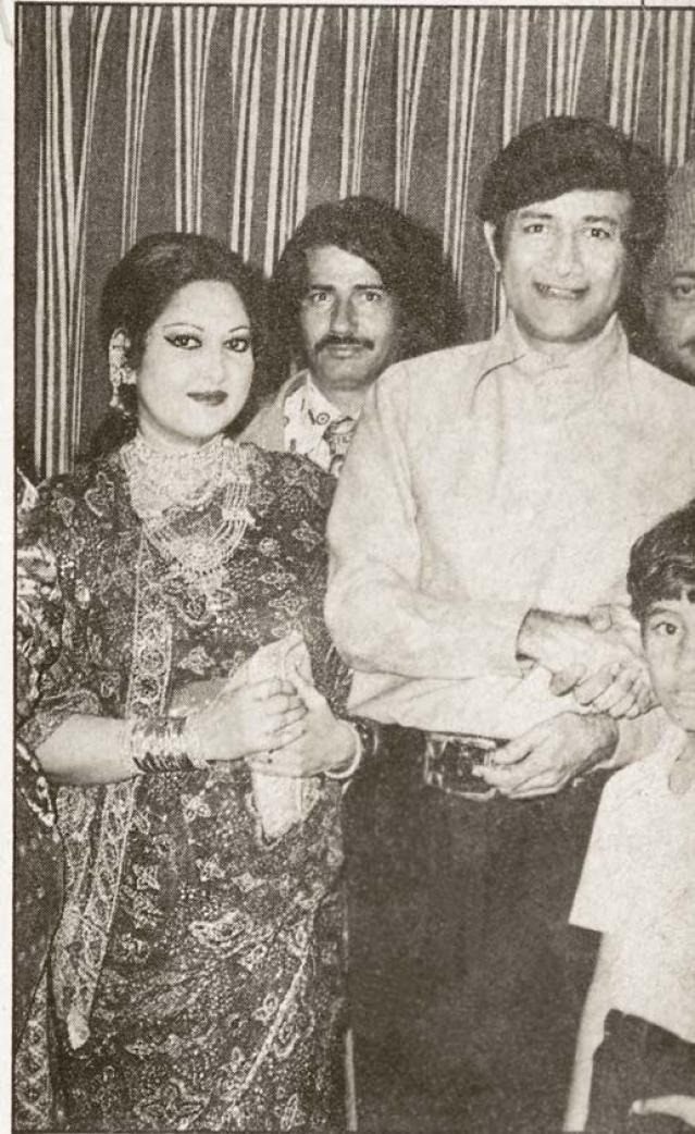 Dev Anand with Suraiya.