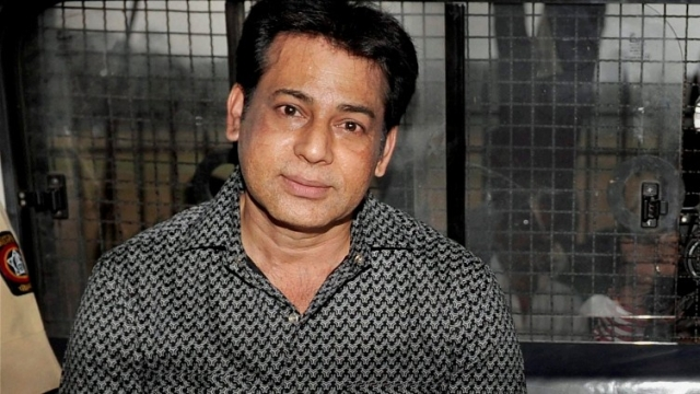 A file photo of extradited gangster Abu Salem who was convicted by a special TADA court in 1993 Mumbai blasts case.