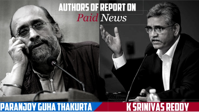 The authors of the PCI report on paid news.