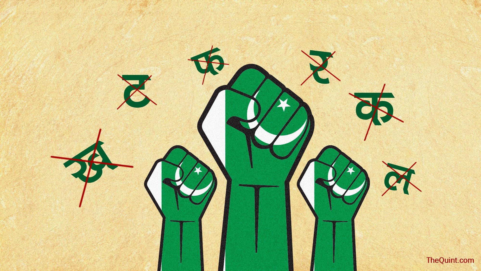 language of pakistan