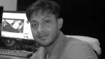 Journalist Santanu Bhowmick was killed on Wednesday in Mandai in West Tripura district.