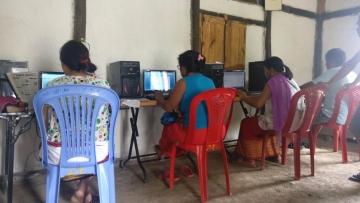 'Mangaal Rural' has helped the village of Nungthaang Tampak, 65 kms away from Imphal, become 100% computer literate.