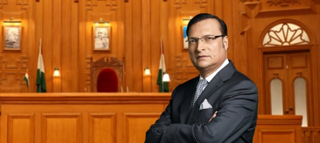 Rajat Sharma, Editor-In-Chief and Chairman, India TV.