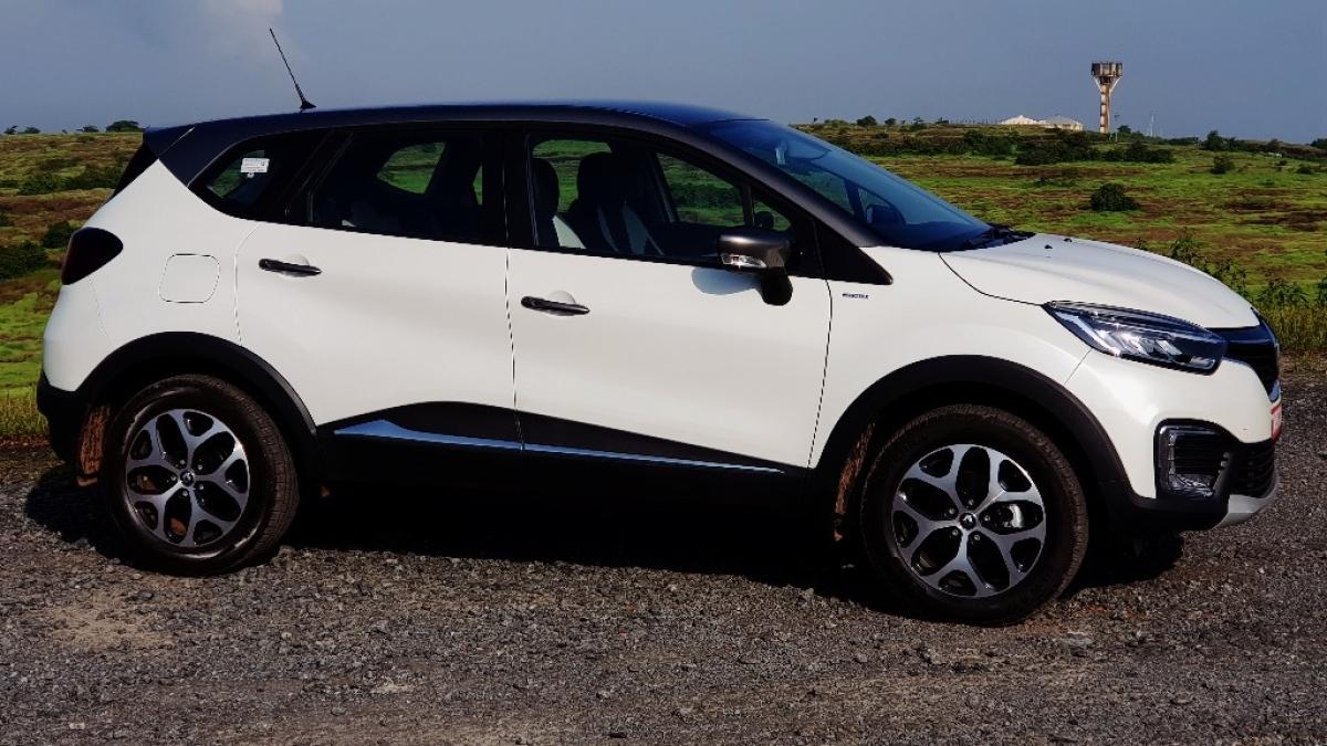 Renault Captur is a premium crossover SUV.