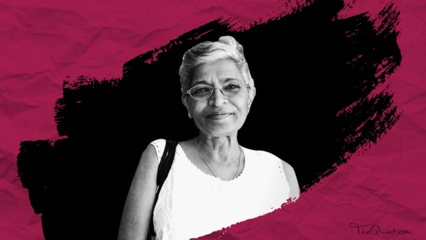 Gauri Lankesh was killed outside her home in Bengaluru on 5 September.