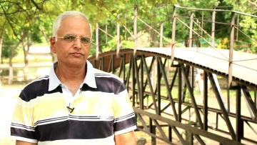Haryana IAS officer Virendra Kundu.