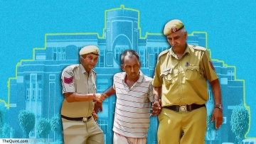 Accused Ashok Kumar being escorted by police on 9 September.